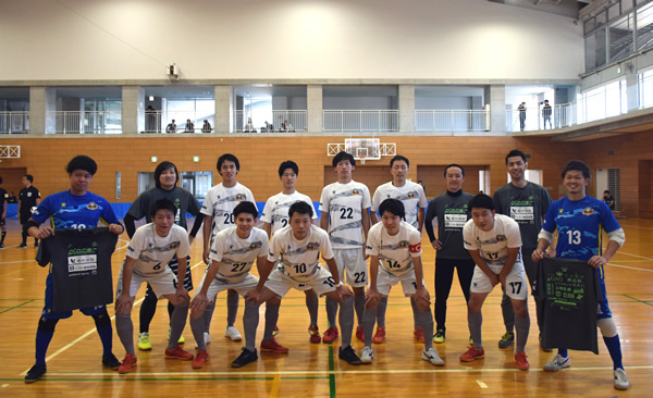 JFA第24回全日本フットサル選手権 香川県大会 準決勝 『Azul Ballena Futsal Club』戦