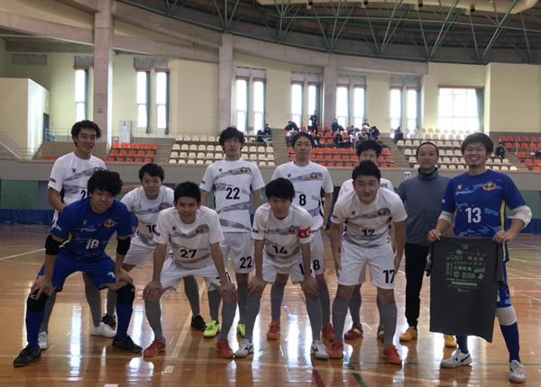 SuperSports XEBIO 四国フットサルリーグ2018 第12節 『Leaogrosso 』戦