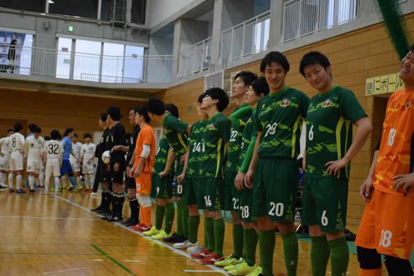 SuperSports XEBIO 四国フットサルリーグ2019 第14節『FC miracle smile』戦入場