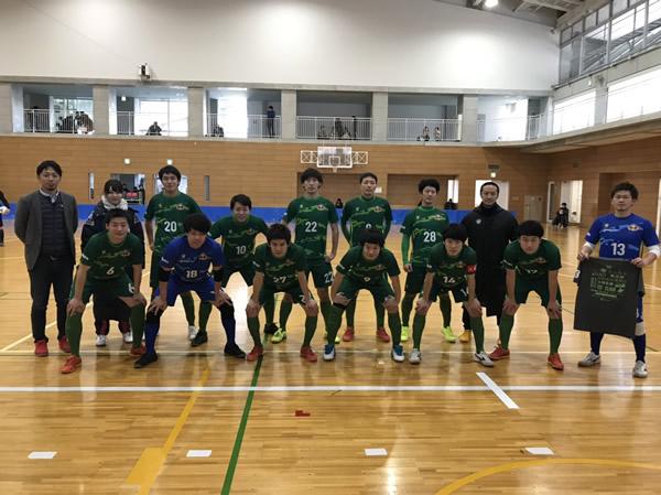 SuperSports XEBIO 四国フットサルリーグ2018 第14(最終)節 『EL BLANCO』戦