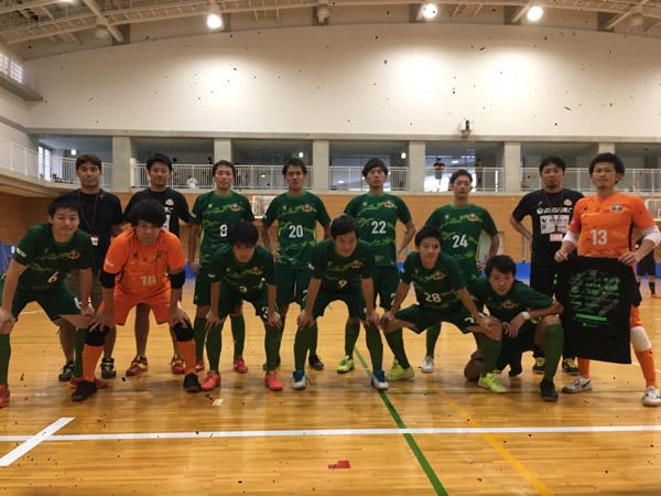 SuperSports XEBIO 四国フットサルリーグ2019 第8節『カレビッジ愛媛』戦
