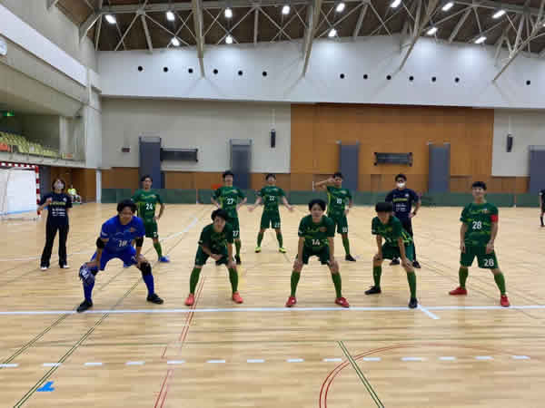 四国フットサルリーグ2020 第2節『Azul Ballena Futsal Club』戦