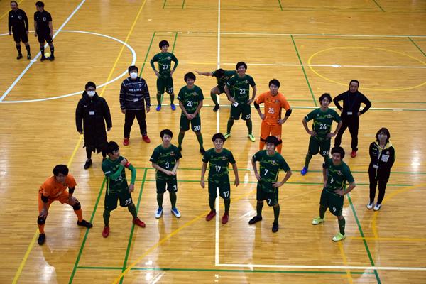 四国フットサルリーグ2020 第5節『Lucha Futsal Club/KAGAWA』戦