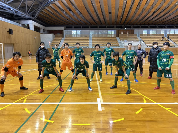JFA 第26回全日本フットサル選手権大会 四国大会 決勝『FC miracle smile』戦