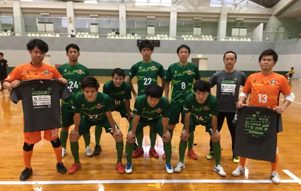 SuperSports XEBIO 四国フットサルリーグ2018 第7節 『カルビッチ愛媛』戦