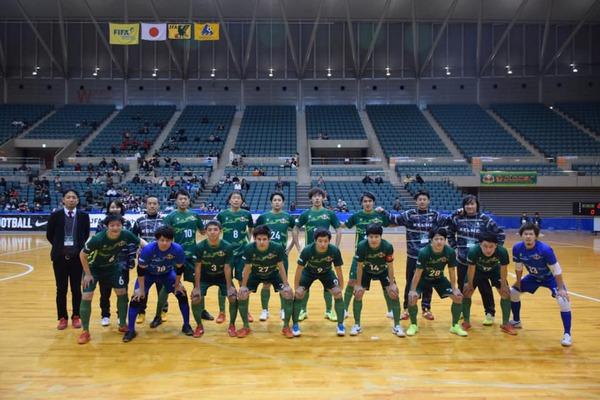JFA第24回全日本フットサル選手権大会「フウガドールすみだ戦」
