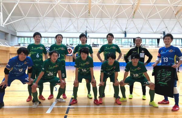 SuperSports XEBIO 四国フットサルリーグ2019 第10節『東温K-LUZ』戦