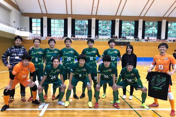 SuperSports XEBIO 四国フットサルリーグ2019 第11節『ハイスタフットサルクラブ』戦