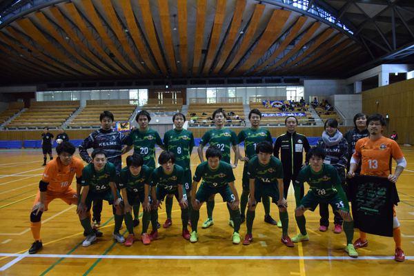 JFA第25回全日本フットサル選手権 四国大会『徳島大学フットサル部』戦