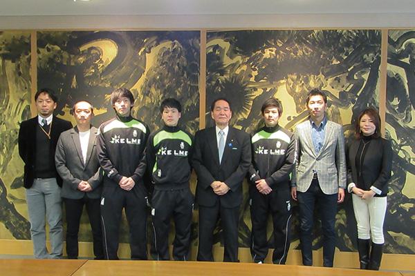 浜田香川県知事表敬訪問の様子が香川大学ホームページで紹介
